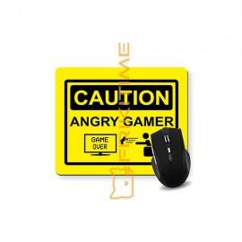 Mouse pad Caution